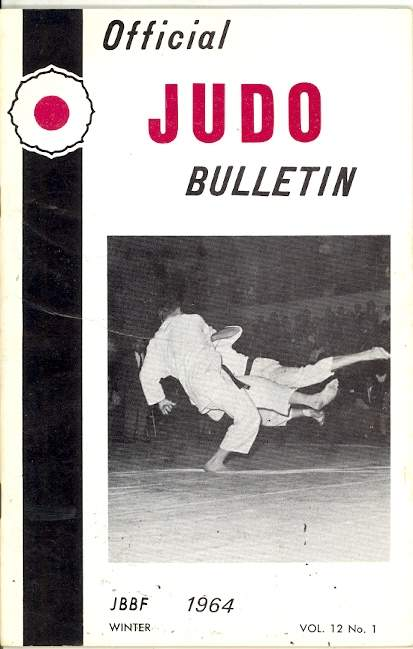 Winter 1964 Official Judo Bulletin