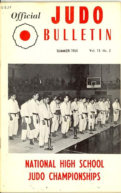 Summer 1965 Official Judo Bulletin