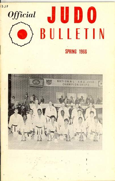 Spring 1966 Official Judo Bulletin