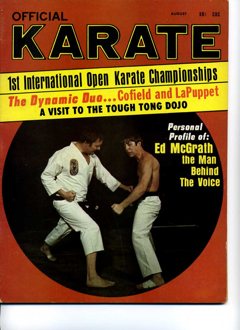 08/69 Official Karate