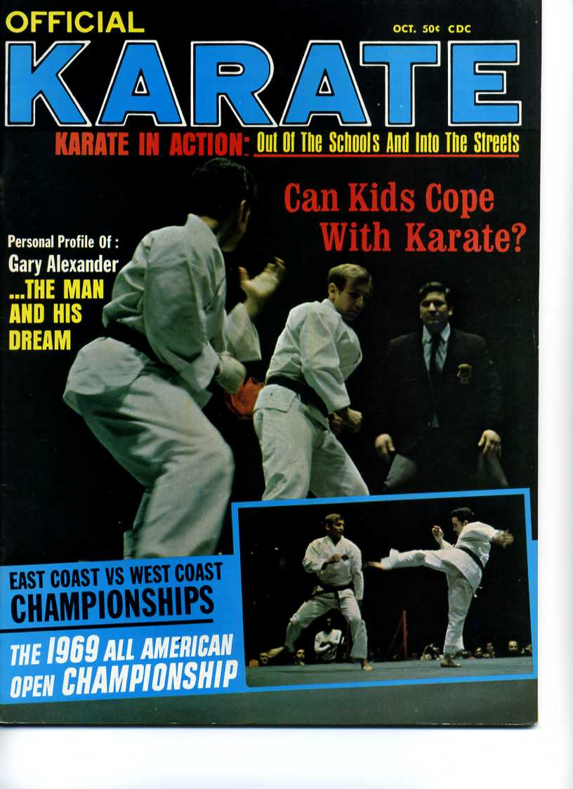 10/69 Official Karate