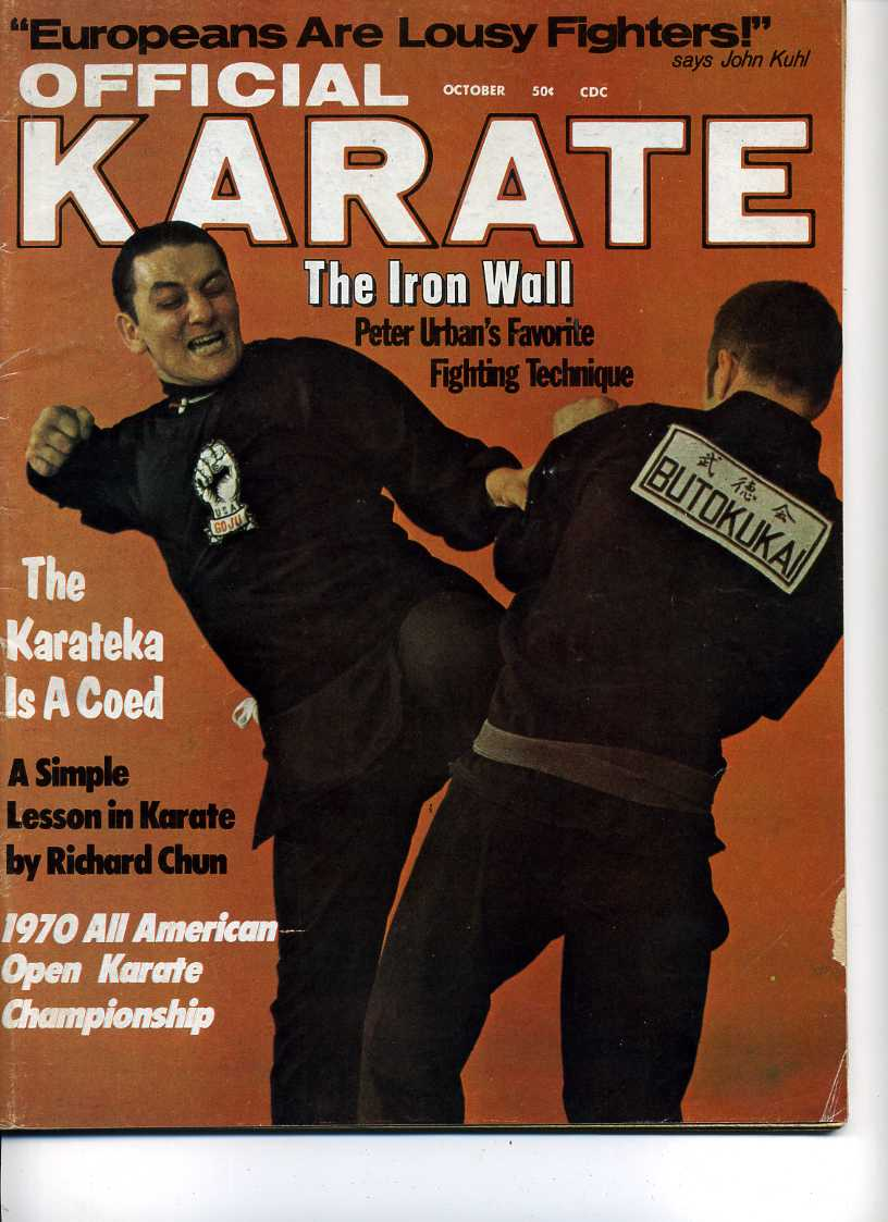 10/70 Official Karate
