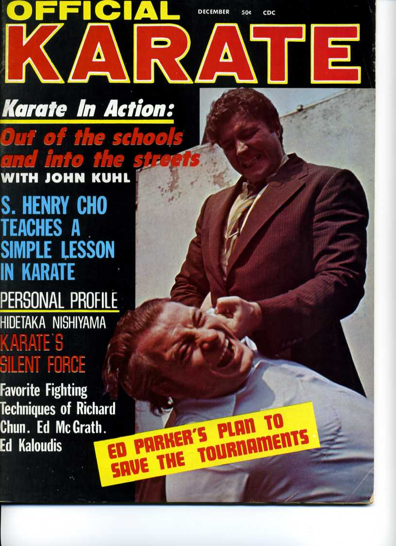 12/70 Official Karate