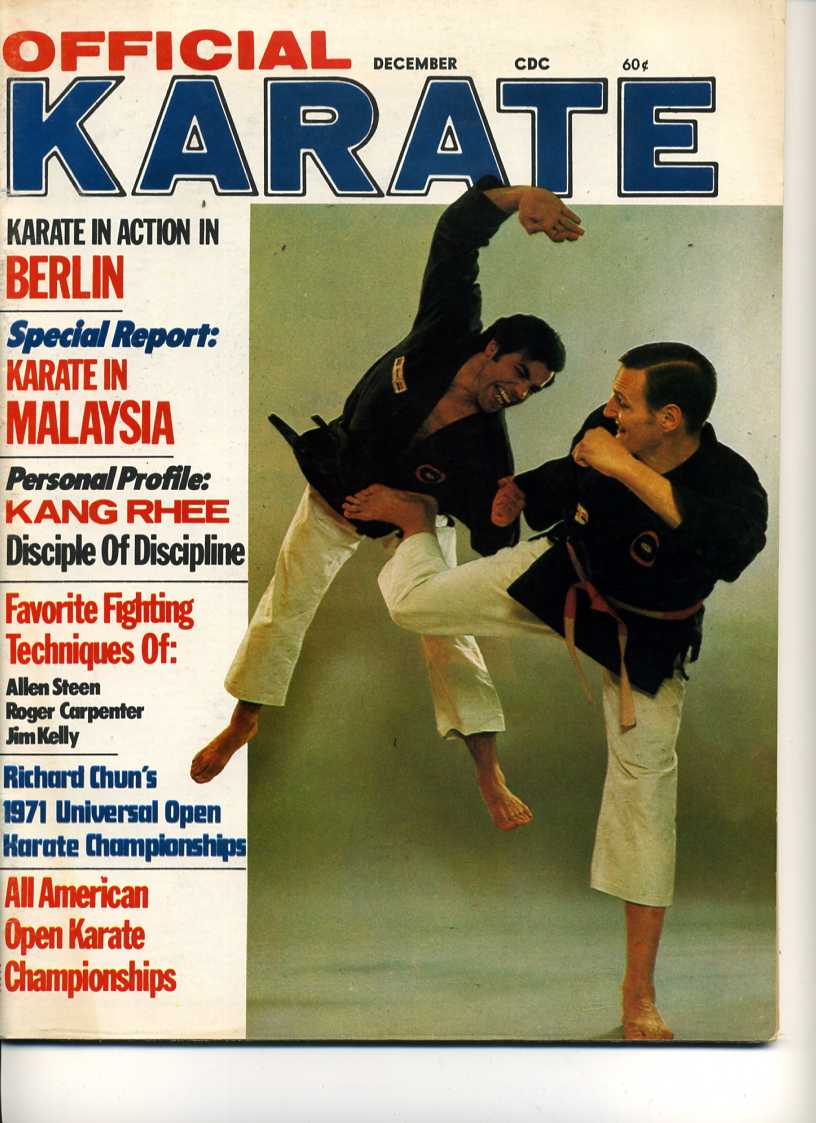 12/71 Official Karate