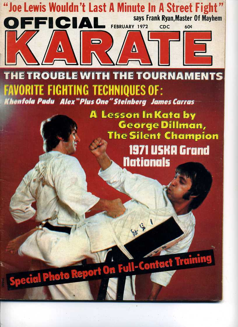 02/72 Official Karate