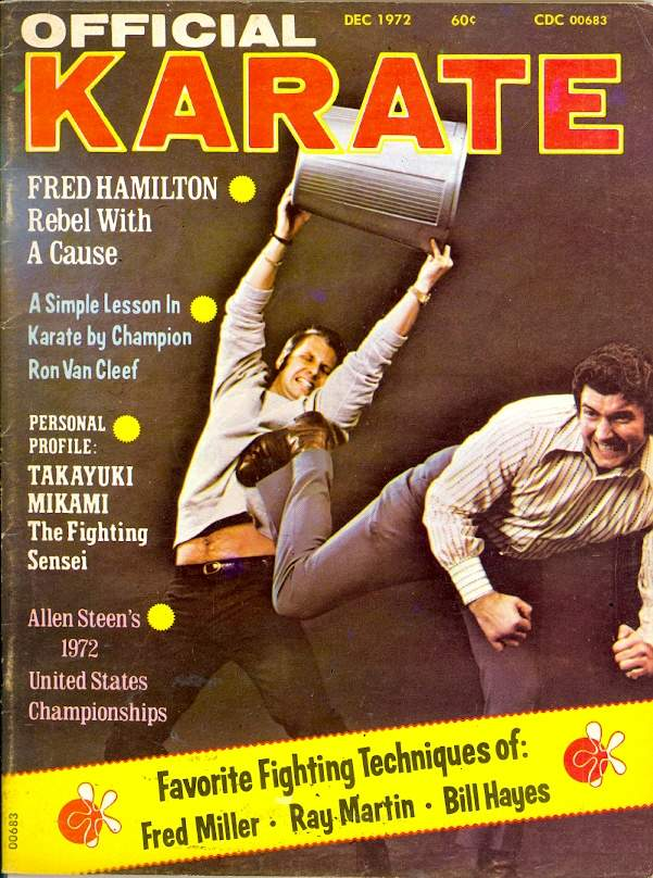12/72 Official Karate