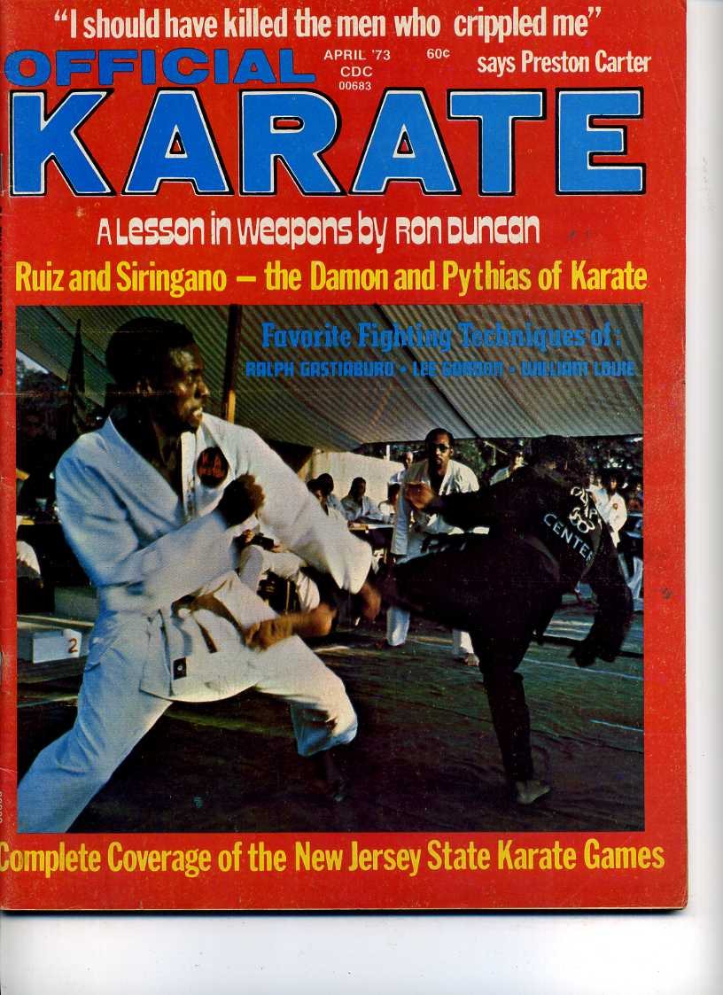 04/73 Official Karate