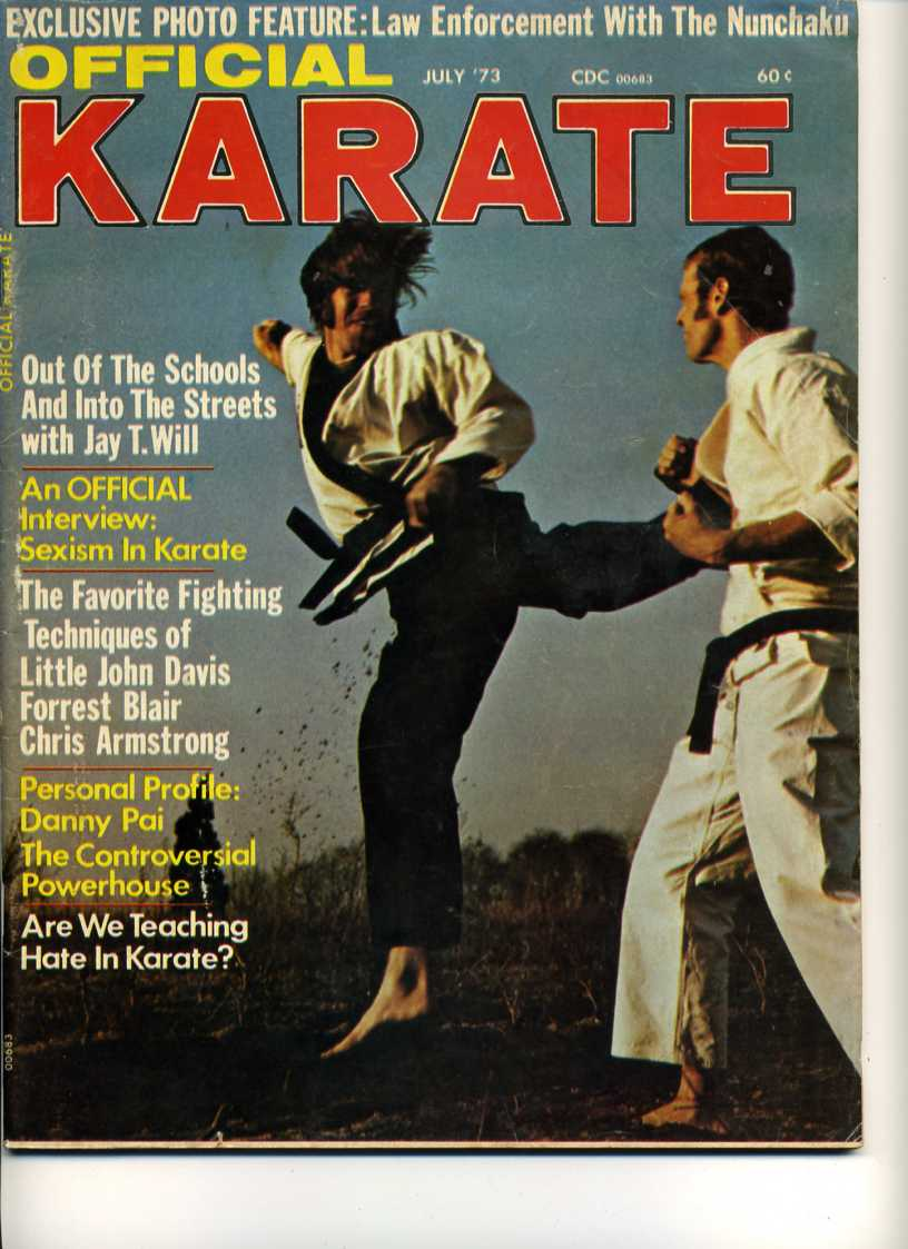 07/73 Official Karate