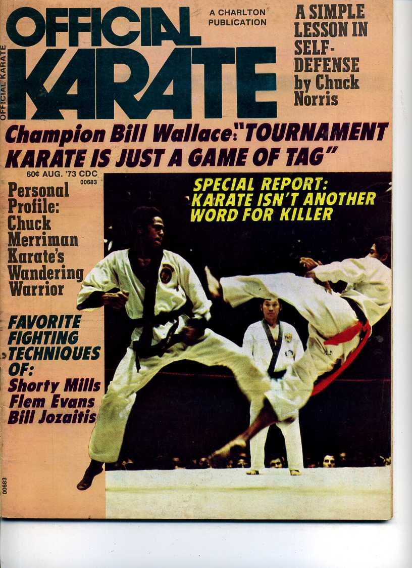 08/73 Official Karate