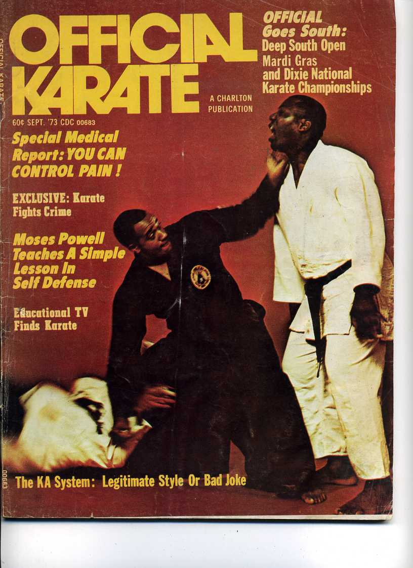 09/73 Official Karate