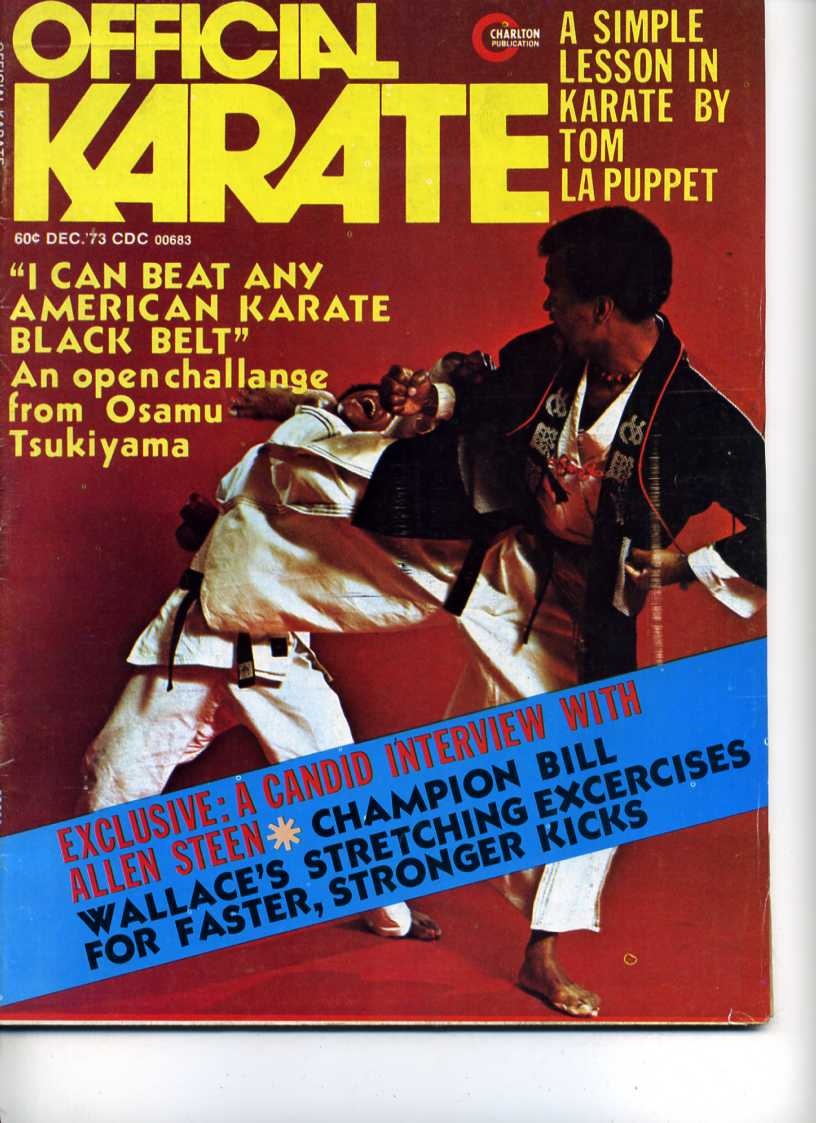12/73 Official Karate