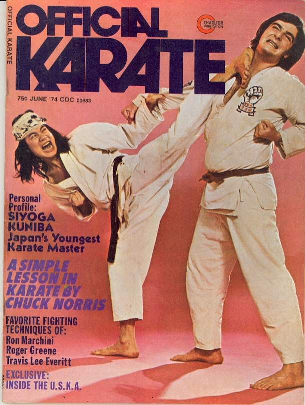 06/74 Official Karate