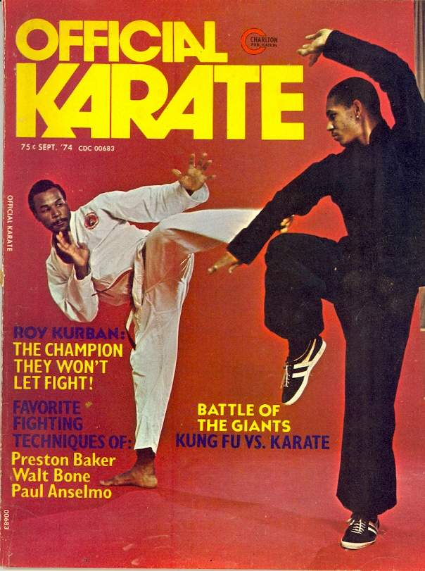 09/74 Official Karate