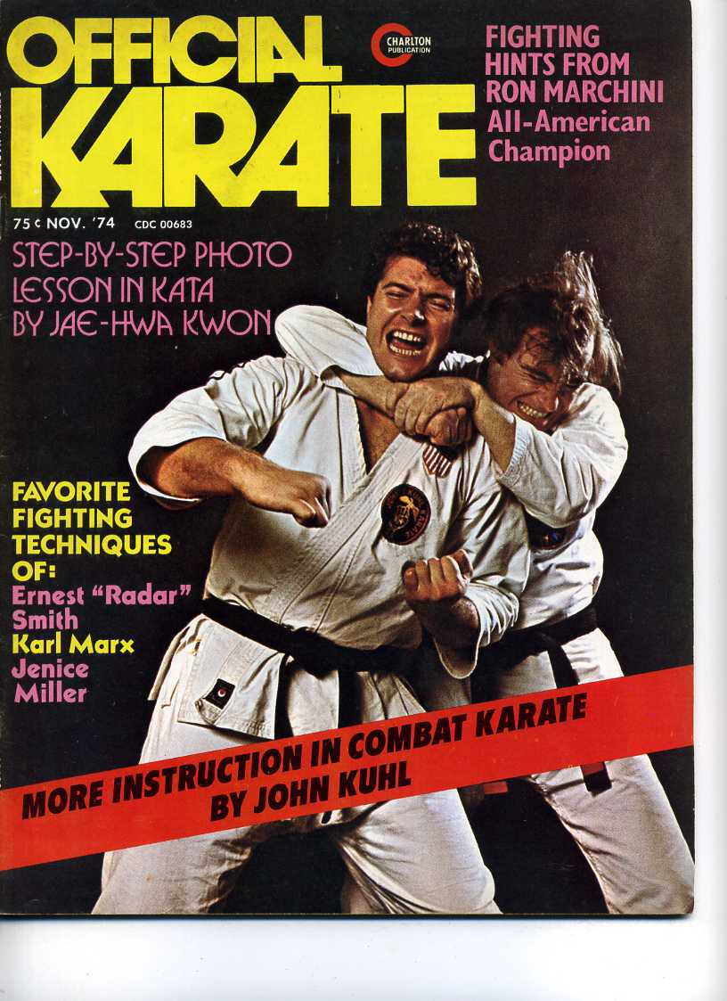 11/74 Official Karate
