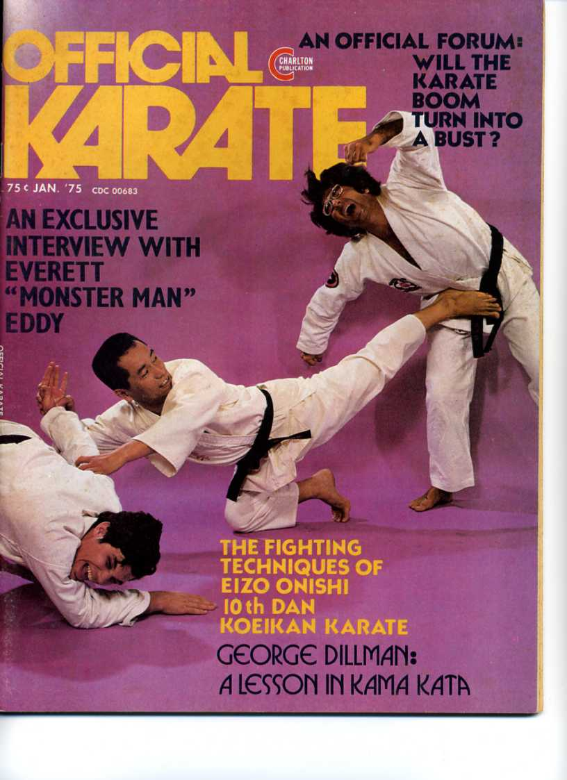 01/75 Official Karate