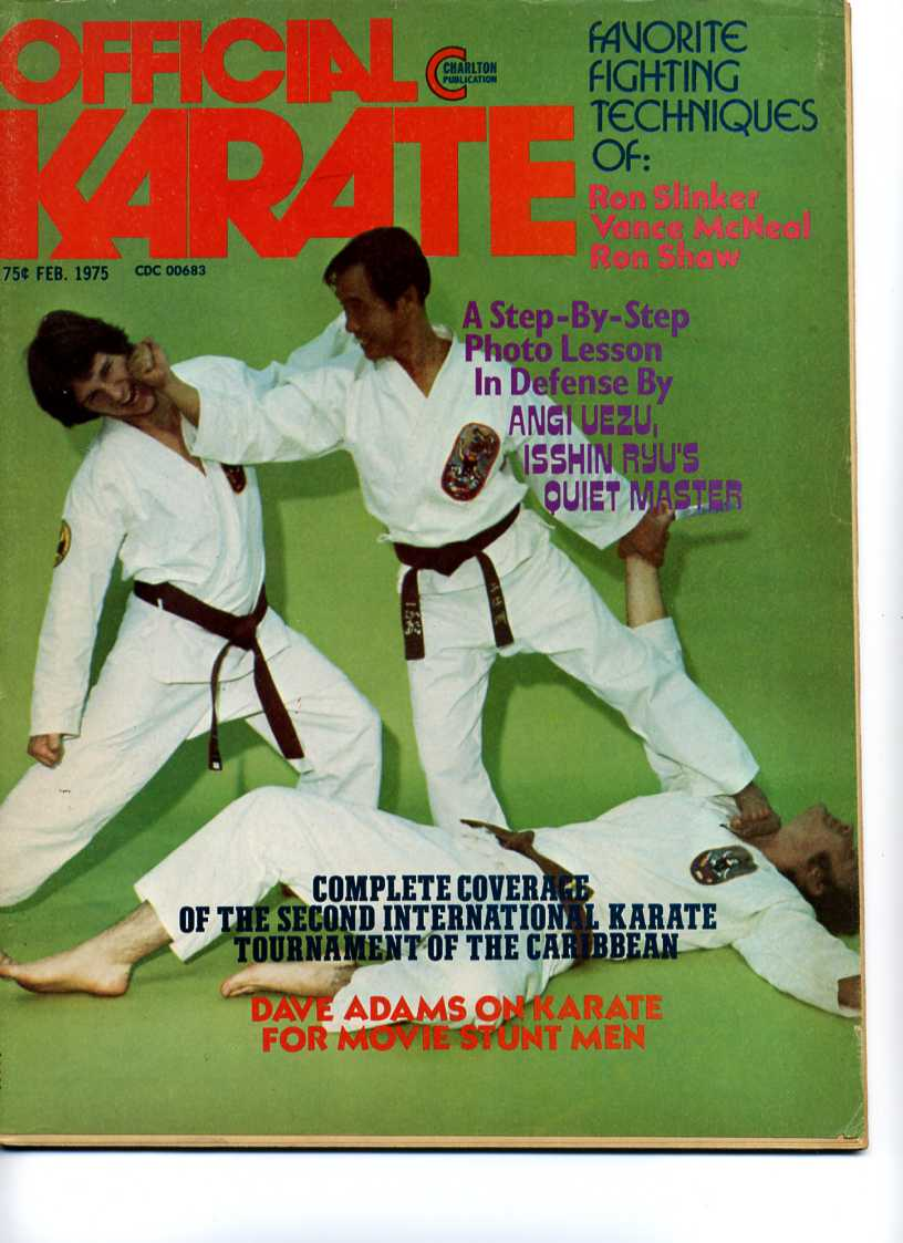 02/75 Official Karate