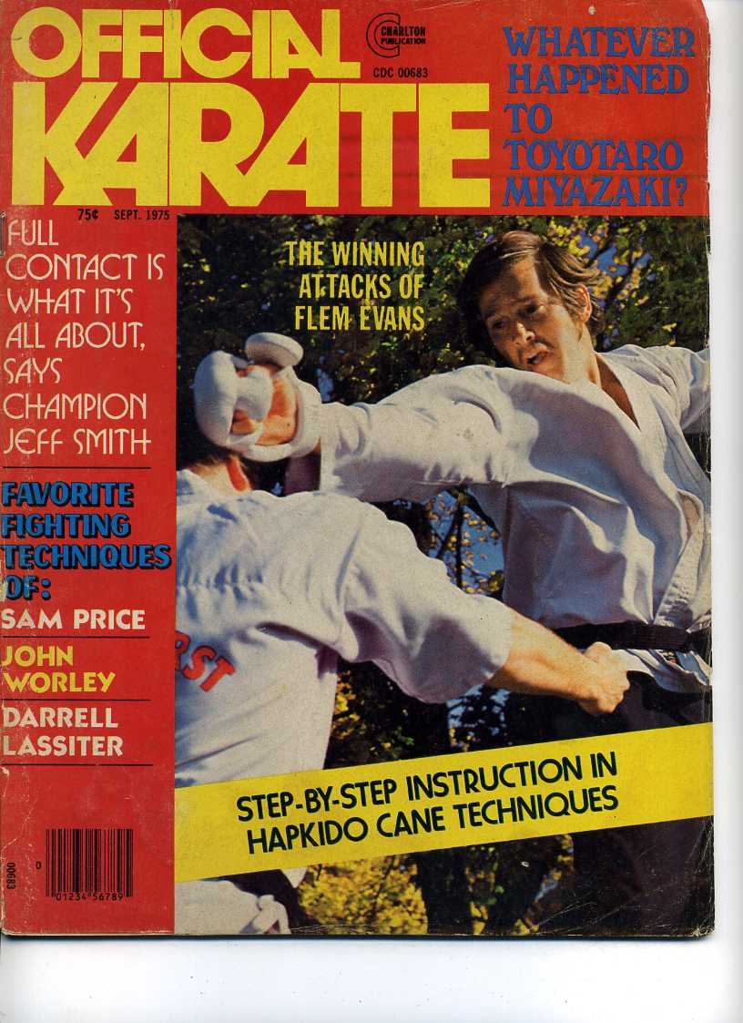 09/75 Official Karate
