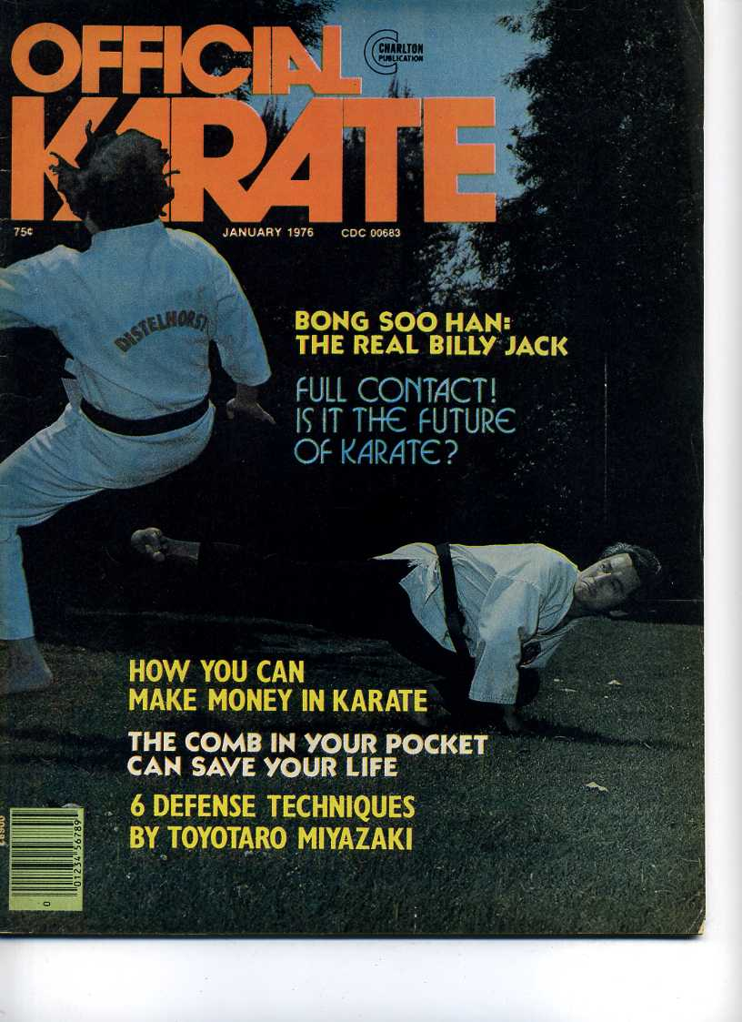 01/76 Official Karate