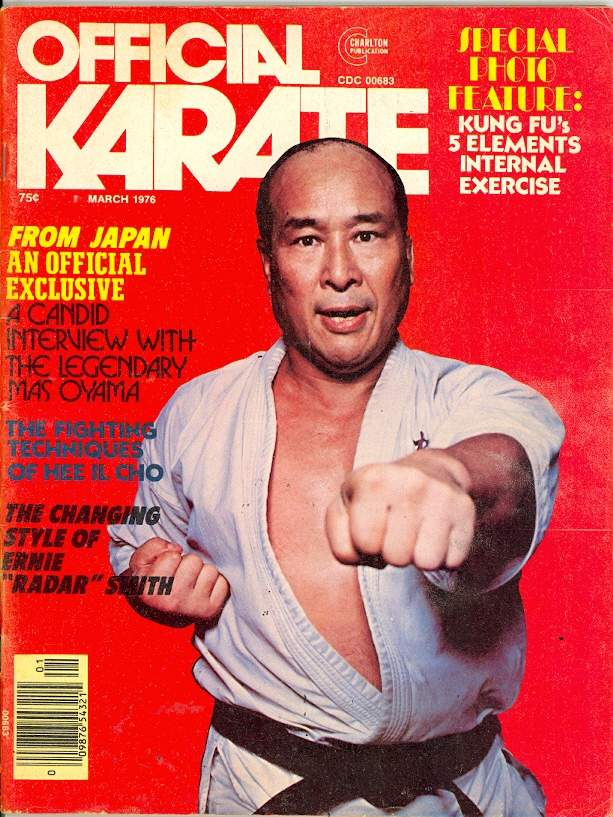 03/76 Official Karate
