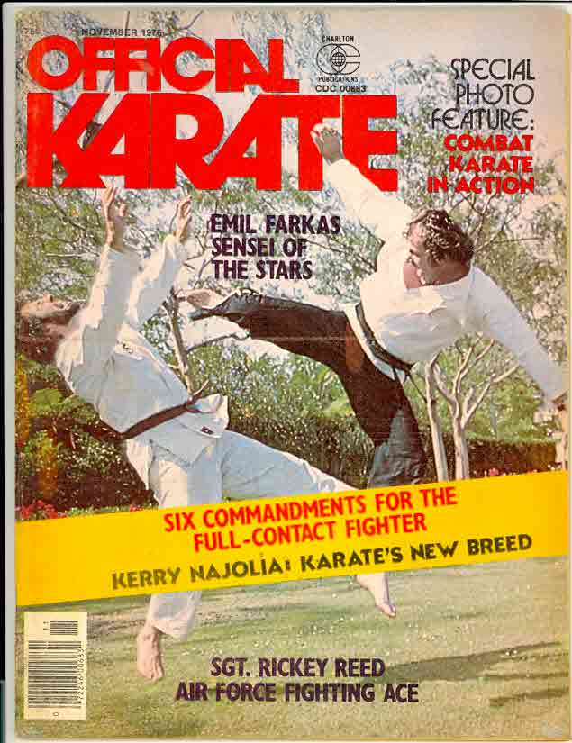 11/76 Official Karate