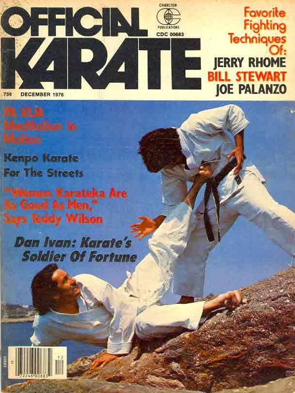 12/76 Official Karate