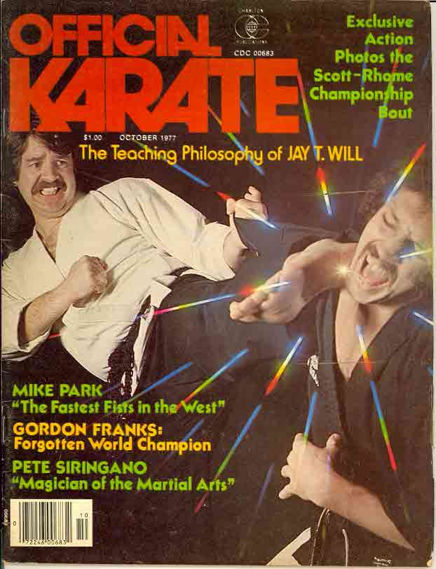 10/77 Official Karate