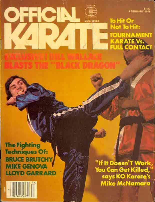 02/78 Official Karate