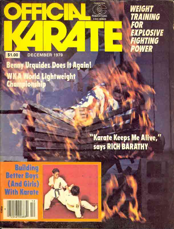 12/79 Official Karate