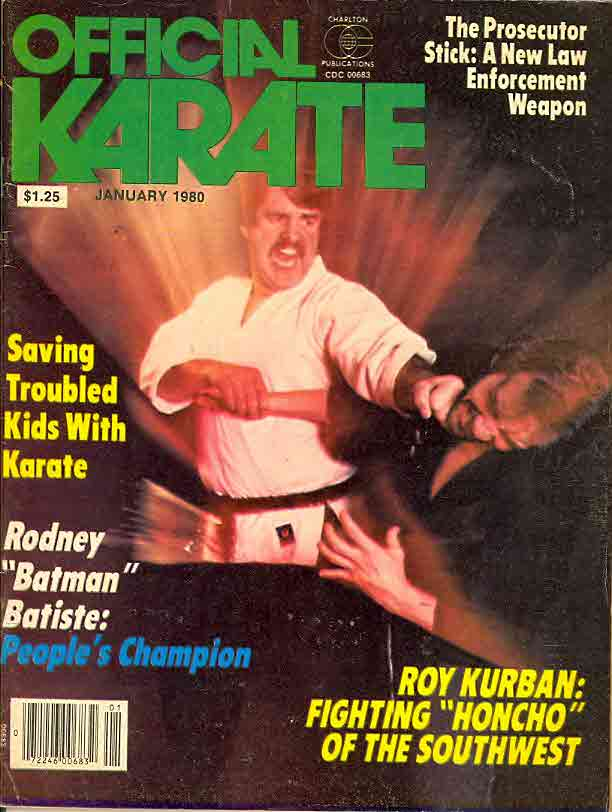 01/80 Official Karate