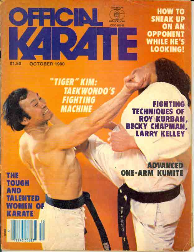 10/80 Official Karate