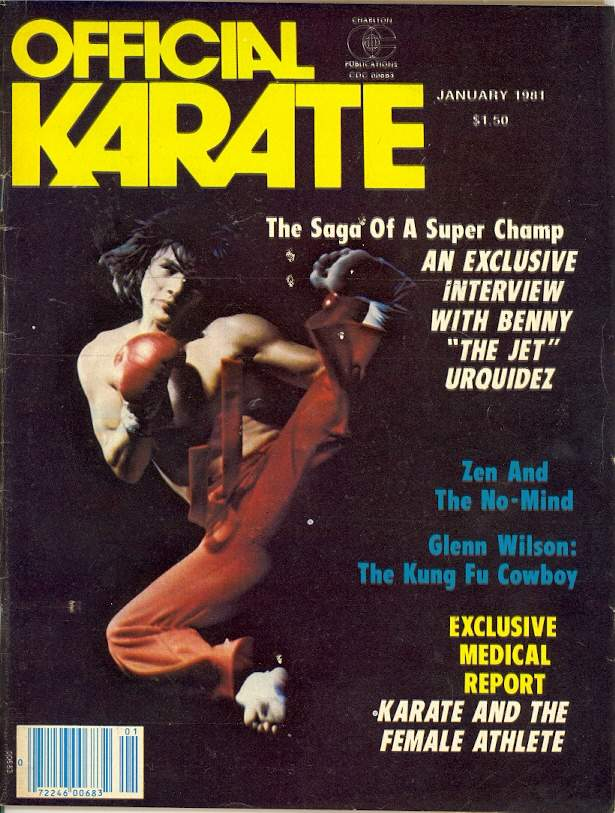 01/81 Official Karate