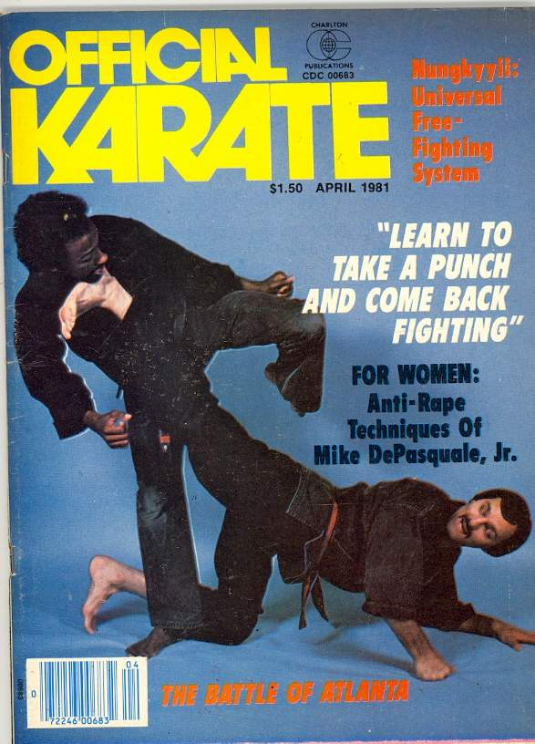 04/81 Official Karate