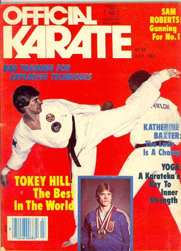 07/81 Official Karate