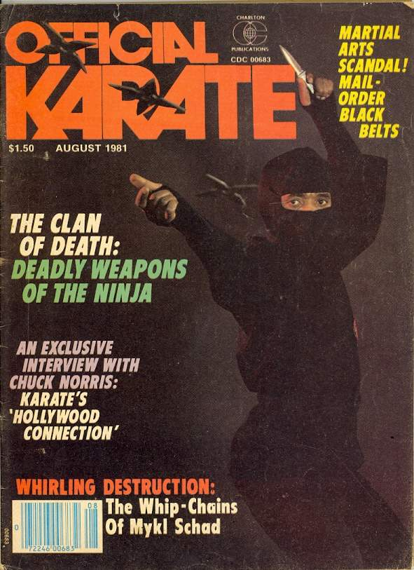 08/81 Official Karate
