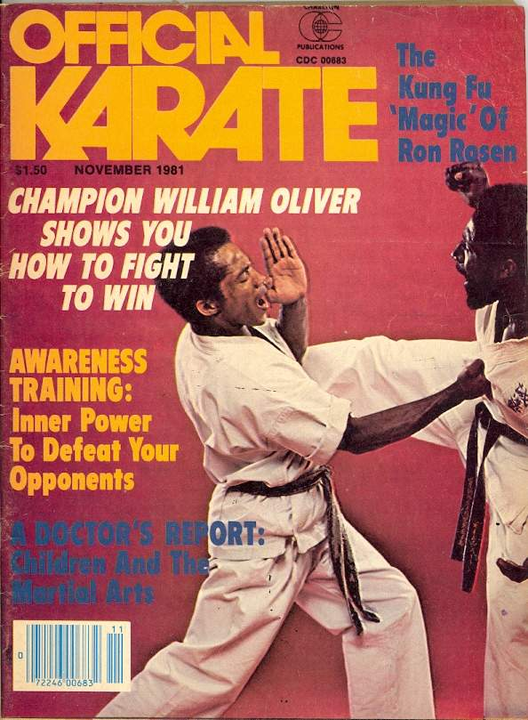 11/81 Official Karate