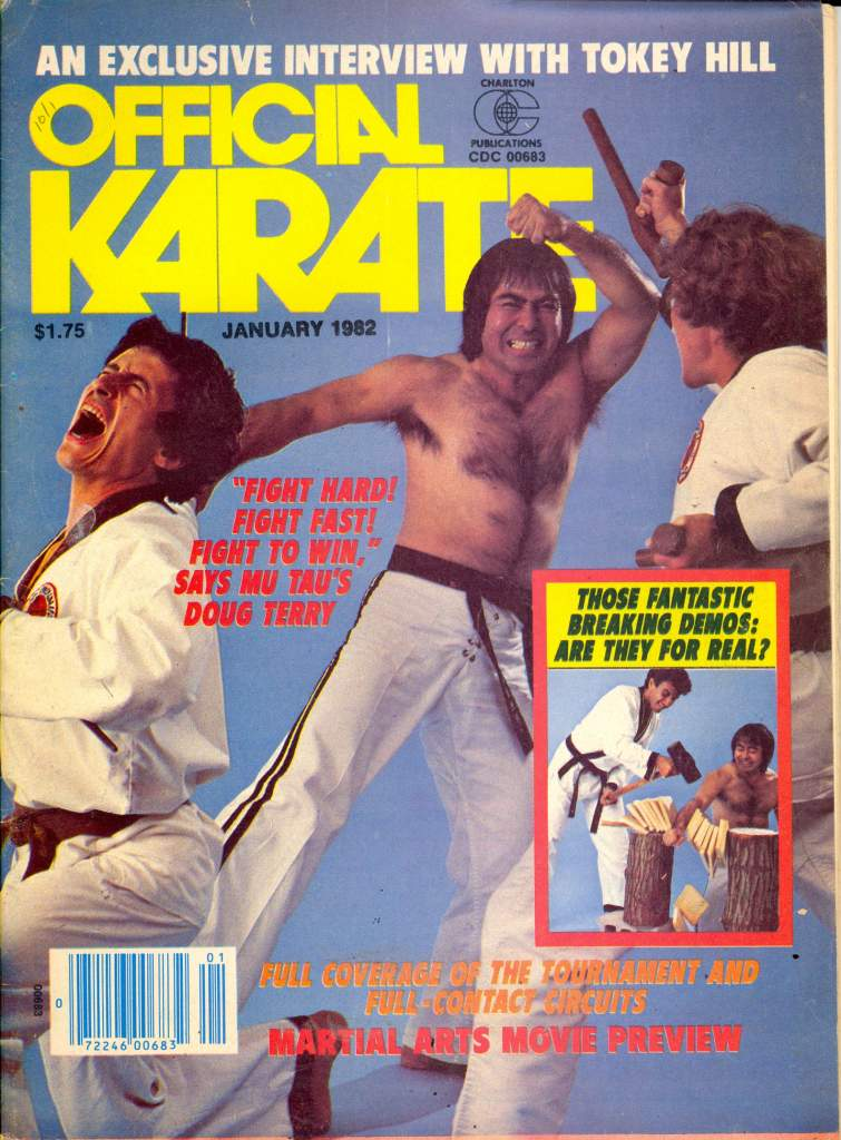 01/82 Official Karate