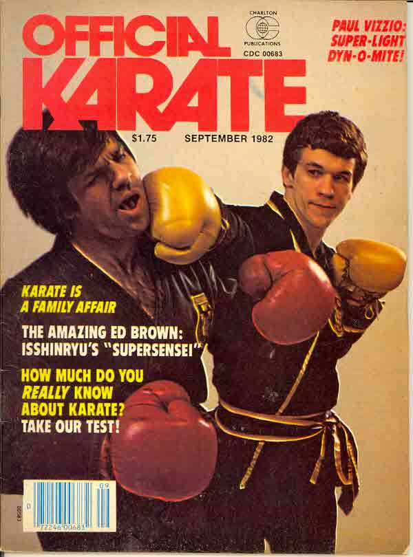 09/82 Official Karate