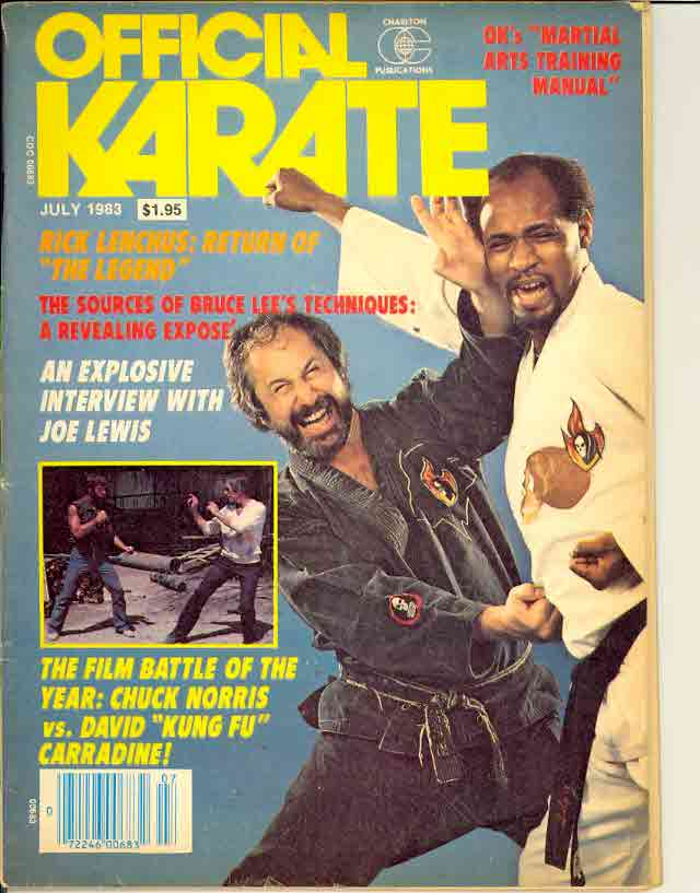 07/83 Official Karate