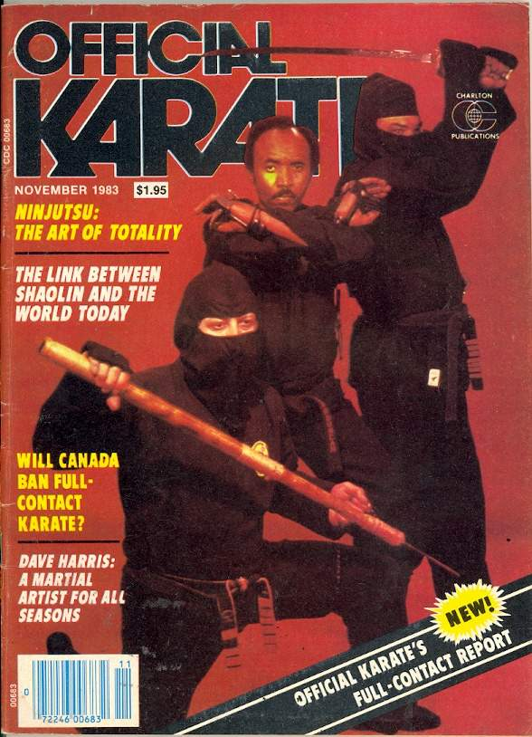 11/83 Official Karate