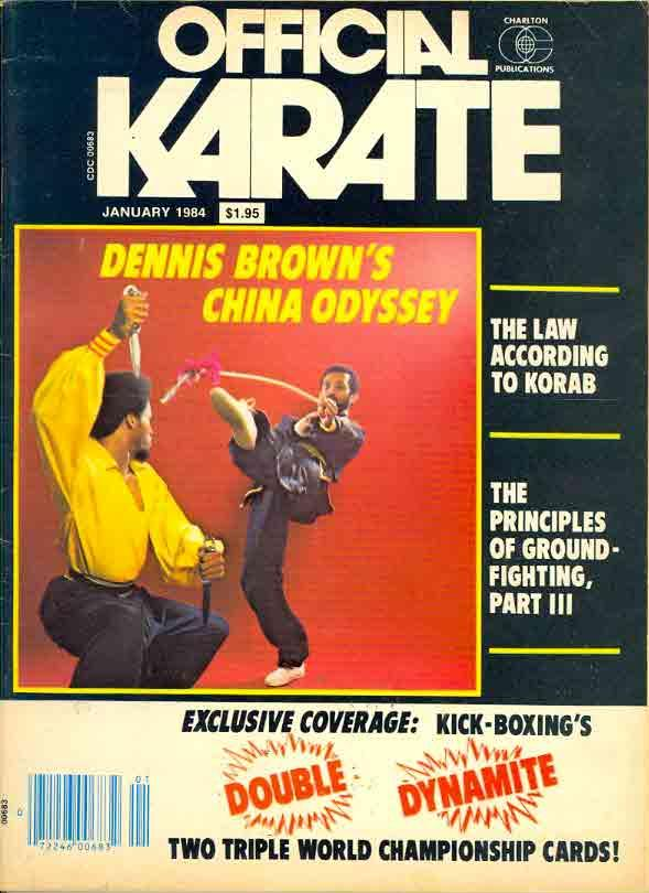 01/84 Official Karate