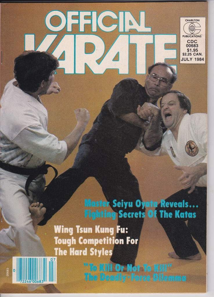 07/84 Official Karate