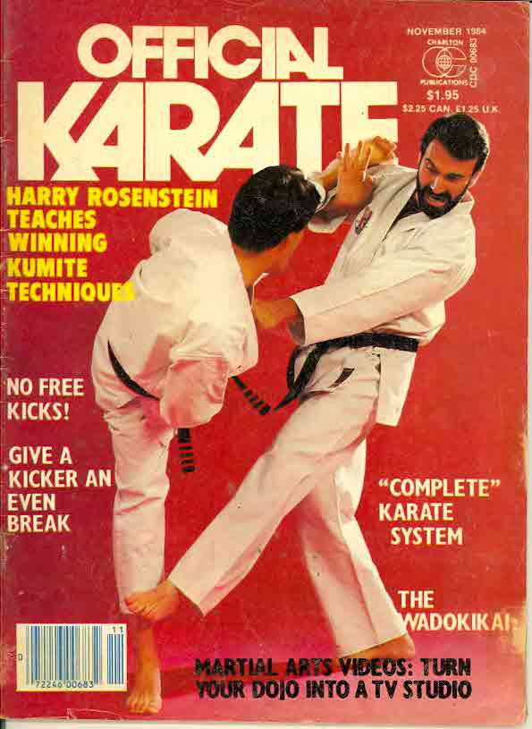 11/84 Official Karate