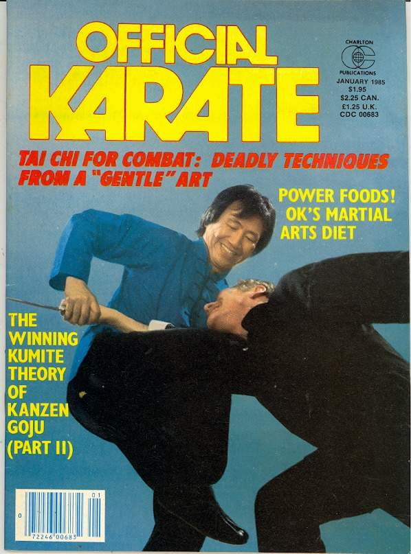 01/85 Official Karate