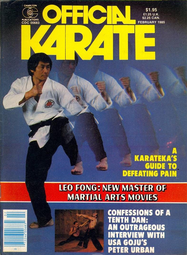 02/85 Official Karate