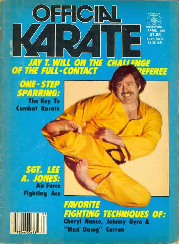 04/85 Official Karate