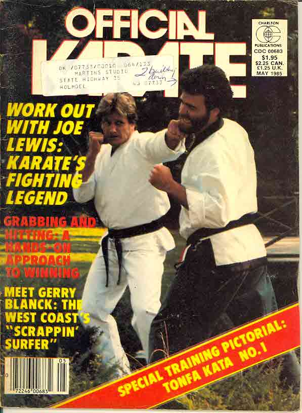 05/85 Official Karate