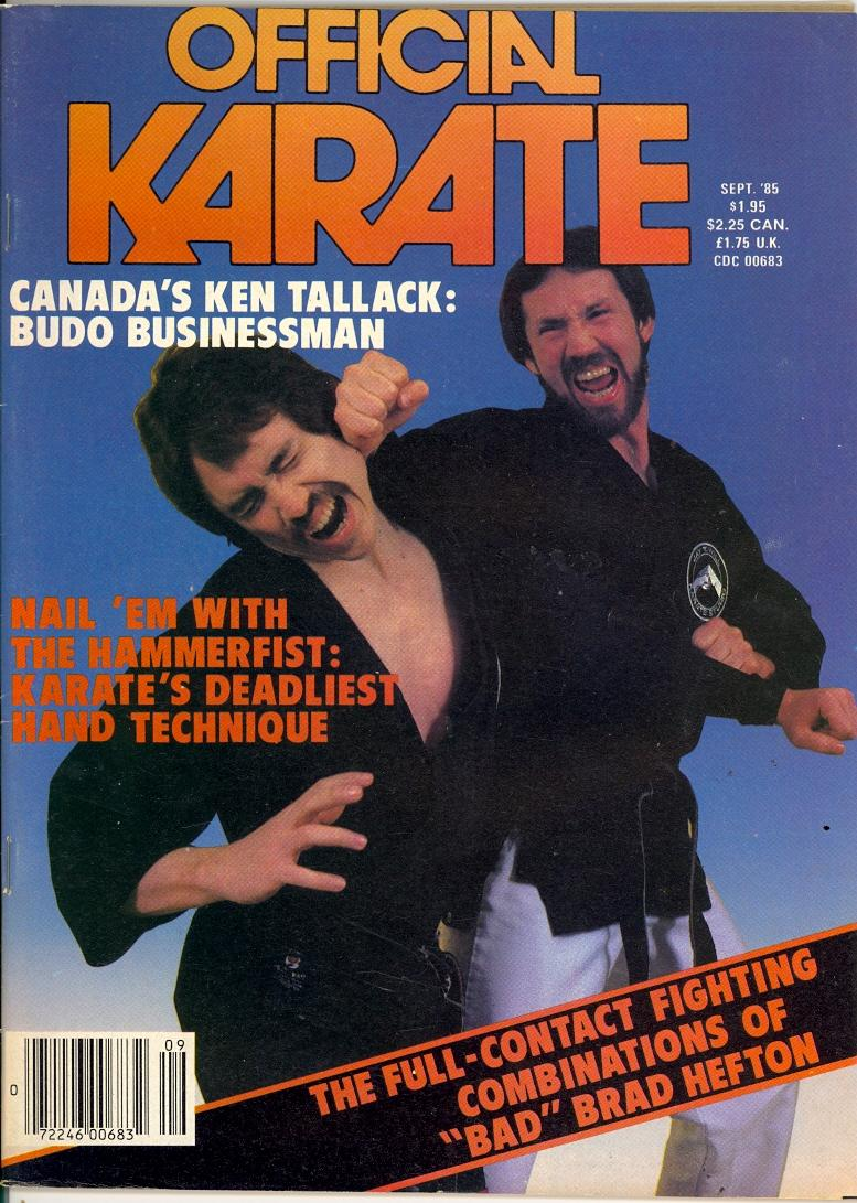 09/85 Official Karate