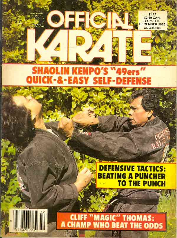 12/85 Official Karate