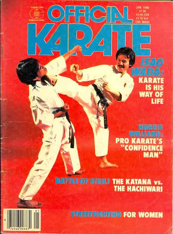 01/86 Official Karate