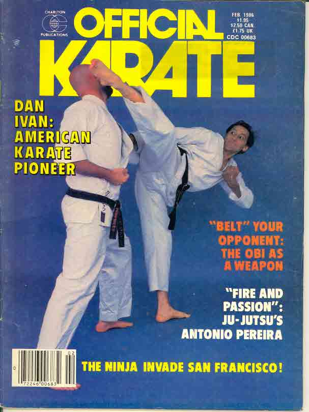 02/86 Official Karate